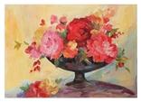 Розы в вазе. photo 1