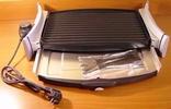 Надежный электрогриль-барбекю, 2 поверхности, Испания, для вкусного приготовления мяса