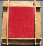 Серебряная икона с четырьмя святыми + киот. 84 проба. 40х58 см. photo 12