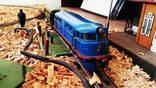 Легендарная игрушка СССР Железная дорога ''Пионерская'' на ходу.