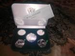 Евро 2012 набор 5 монет. Серебро