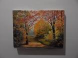 """Картина маслом """"Осень"""" 30x40см photo 2"""