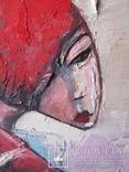 Девушка с виоланчелью 30*40 см photo 2