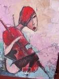 Девушка с виоланчелью 30*40 см photo 1