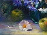 """""""Натюрморт с яблоками"""" х.м. 50х70 см. photo 7"""