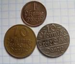 Данцыг пфенниг 1923-1932-1937