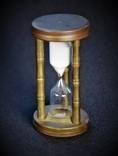 Часы песочные . Латунь . Европа.