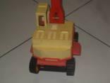 Экскаватор - игрушка  СССР, фото №5
