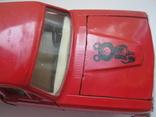 Волга газ-24.модель а 14..1:43.с олимпийским мишкой на капоте photo 1