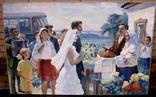 """Большая картина """" Сельская свадьба """" photo 1"""