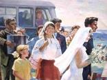 """Большая картина """" Сельская свадьба """" photo 7"""