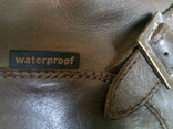 Зимние кожаные сапоги Human Nature waterproof разм.41 photo 9