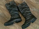 Зимние кожаные сапоги Human Nature waterproof разм.41 photo 11
