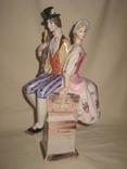 Фарфоровая статуэтка: Трубочист и пастушка.