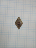 Значок пионерский ранний(в центре звезды буквы ЮП) photo 1