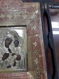Икона Тихвинская Божья Матерь Серебро 14 на 11 photo 7