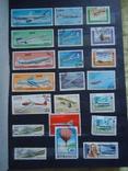 Почтовые марки 500+ шт СССР и страны мира photo 4