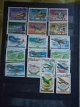 Почтовые марки 500+ шт СССР и страны мира photo 5