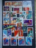 Почтовые марки 500+ шт СССР и страны мира photo 12
