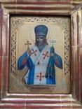 Икона Иоасаф Белгородский в киоте photo 5