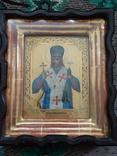 Икона Иоасаф Белгородский в киоте photo 7