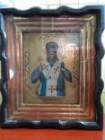 Икона Иоасаф Белгородский в киоте photo 1