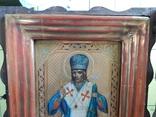 Икона Иоасаф Белгородский в киоте photo 15