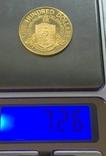100 $ 1976 год БРИТАНСКИЕ ВИРДЖИНСКИЕ ОСТРОВА золото 7,26 грамм 900` photo 3