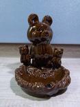 Пепельница Три олимпийских мишки, СКК photo 1