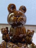 Пепельница Три олимпийских мишки, СКК photo 2