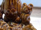Пепельница Три олимпийских мишки, СКК photo 6