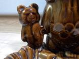 Пепельница Три олимпийских мишки, СКК photo 7