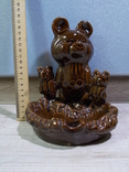 Пепельница Три олимпийских мишки, СКК photo 25