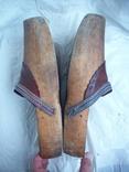 Оригинальные старинные голландские деревянные сабо, фото №3