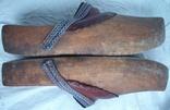 Оригинальные старинные голландские деревянные сабо, фото №4