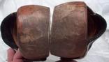 Оригинальные старинные голландские деревянные сабо, фото №5