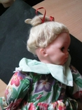 Кукла паричковая 50 см. 1951 г., фото №7