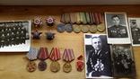 Комплект боевых орденов ОВ1, ОВ2, КЗ, КЗ и другое на полковника