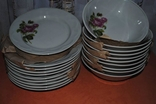 Тарелки 20 шт. (10 шт. для первых 10 шт. для вторых блюд)