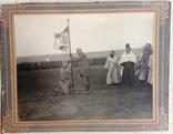 Вручение и освящение знамени, г. Челябинск, 1916 г.