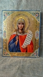 "Икона ""Святая Великомученица Параскева, нареченная Пятница"" (27 Х 22). photo 1"