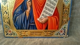 "Икона ""Святая Великомученица Параскева, нареченная Пятница"" (27 Х 22). photo 4"