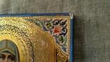 "Икона ""Святая Великомученица Параскева, нареченная Пятница"" (27 Х 22). photo 5"