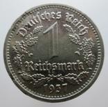 1 рейхсмарка 1937 G