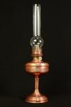 Коллекционная керосиновая лампа. 515 мм. Винтаж. Медный корпус. Германия. (0196)