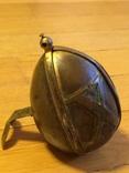 Пасхальное яйцо ХВ Христос Воскрес рамка для иконы фотографии латунь, фото №3