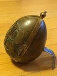 Пасхальное яйцо ХВ Христос Воскрес рамка для иконы фотографии латунь, фото №7