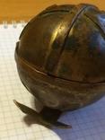 Пасхальное яйцо ХВ Христос Воскрес рамка для иконы фотографии латунь, фото №10