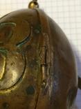 Пасхальное яйцо ХВ Христос Воскрес рамка для иконы фотографии латунь, фото №11