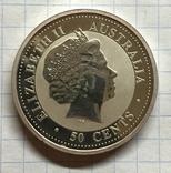 ElizaBeth II Австралия 50 цент